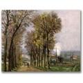 Trademark Global Jean Baptiste Guillamin in.Landscape in Francein. Canvas Art, 35in. x 47in.