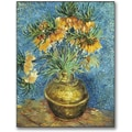 Trademark Global Vincent Van Gogh in.Crown Imperial Fritillariesin. Canvas Arts