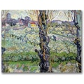 Trademark Global Vincent Van Gogh in.View of Arlesin. Canvas Arts