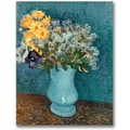 Trademark Global Vincent Van Gogh in.Vase of Flowersin. Canvas Arts