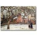 Trademark Global Camille Pissaro in.Chestnut Trees at Louveciennesin. Canvas Arts