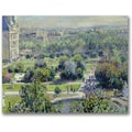 Trademark Global Claude Monet in.View of the Tuileriesin. Canvas Art, 18in. x 24in.