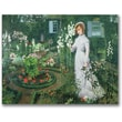 "Trademark Global John Atkinson Grimshaw ""The Rector's Garden"" Canvas Arts"