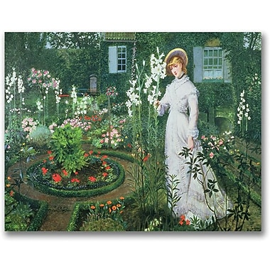 Trademark Global John Atkinson Grimshaw in.The Rector's Gardenin. Canvas Art, 30in. x 47in.