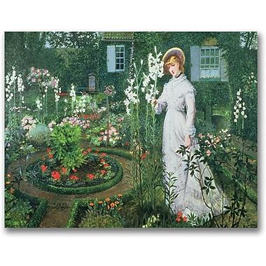 Trademark Global John Atkinson Grimshaw in.The Rector's Gardenin. Canvas Art, 30in. x 47in.