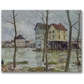 Trademark Global Alfred Sisley in.The Mills at Moret sur Loingin. Canvas Arts