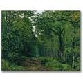 Trademark Global Alfred Sisley in.The Avenue of Chestnut Treesin. Canvas Art, 35in. x 47in.