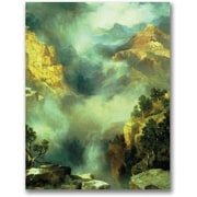 Trademark Global Thomas Moran Mist in the Canyon Canvas Art, 47 x 35