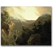 "Trademark Global Thomas Cole ""Mountain Sunrise"" Canvas Art, 24"" x 32"""
