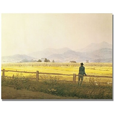 Trademark Global Caspar David Friedrich in.View of Schmiedebergein. Canvas Arts