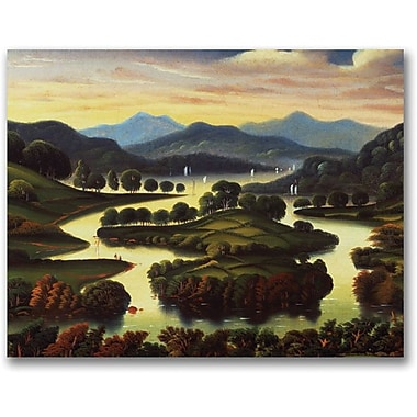 Trademark Global Thomas Chambers in.Landscapein. Canvas Arts
