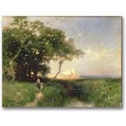 Trademark Global Thomas Moran The Coast of Florida 1882 Canvas Art, 24 x 32
