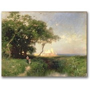 Trademark Global Thomas Moran The Coast of Florida 1882 Canvas Art, 35 x 47