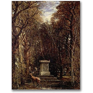 Trademark Global John Atkinson Grimshaw in.The Cenotaph to Reynold's Memoryin. Canvas Arts