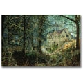 Trademark Global John Atkinson Grimshaw in.Autumn Glory The Old Millin. Canvas Art, 16in. x 24in.
