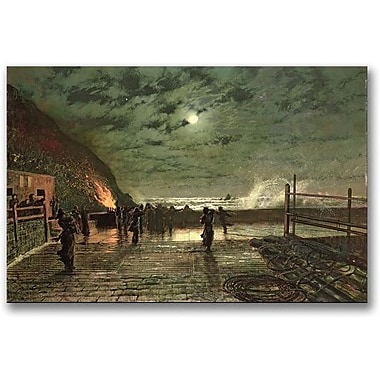 Trademark Global John Atkinson Grimshaw in.In Perilin. Canvas Art, 16in. x 24in.