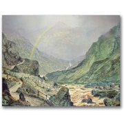 Trademark Global John Atkinson Grimshaw The Seal Of The Covenant Canvas Art, 35 x 47