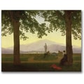 Trademark Global Caspar David Friedrich in.Garden Terrace, 1811in. Canvas Arts