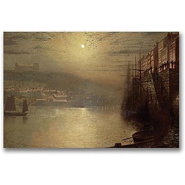 Trademark Global John Atkinson Grimshaw  in.Whitbyin. Canvas Arts