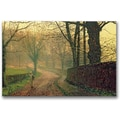 Trademark Global John Atkinson Grimshaw in.Stapleton Park Near Pontefractin. Canvas Arts