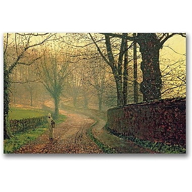 Trademark Global John Atkinson Grimshaw in.Stapleton Park Near Pontefractin. Canvas Art, 30in. x 47in.