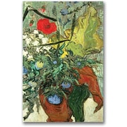 "Trademark Global Vincent Van Gogh ""Bouquet of Wild Flowers"" Canvas Art, 24"" x 16"""