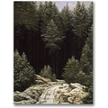 Trademark Global Caspar David Friedrich in.Early Snowin. Canvas Arts