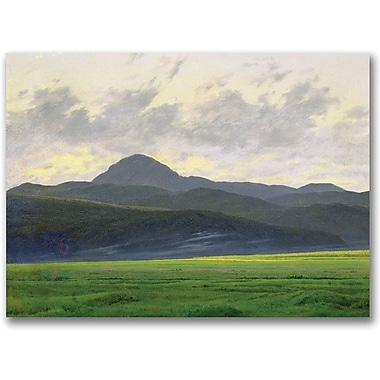 Trademark Global Caspar David Friedrich in.Mountains Landscapein. Canvas Arts