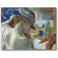 Trademark Global Edgar Degas in.In Front of the Mirrorin. Canvas Arts