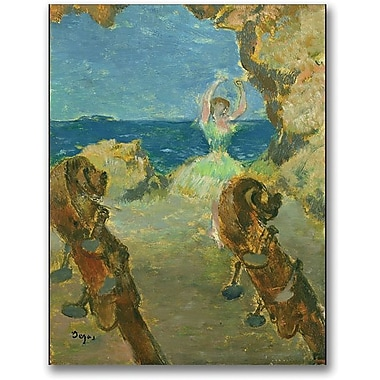 Trademark Global Edgar Degas in.The Ballet Dancer, 1891in. Canvas Art, 24in. x 18in.
