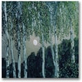 Trademark Global Aleksandr Golovin in.Birch Treesin. Canvas Arts