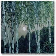 "Trademark Global Aleksandr Golovin ""Birch Trees"" Canvas Art, 24"" x 24"""