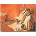 Trademark Global Edgar Degas in.After the Bath 1896in. Canvas Arts