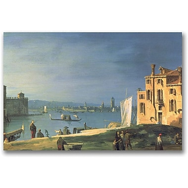Trademark Global Canatello in.View of Venicein. Canvas Arts