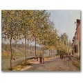 Trademark Global Alfred Sisley in.June Morning in Saint Mammesin. Canvas Arts