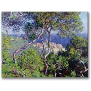 "Trademark Global Claude Monet ""Bordighera, 1884"" Canvas Arts"