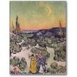 Trademark Global Vincent Van Gogh in.Moonlit Landscape 1889in. Canvas Art, 47in. x 35in.