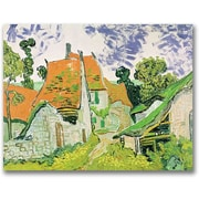 "Trademark Global Vincent Van Gogh ""Street in Auvers-sur-Oise"" Canvas Art, 35"" x 47"""