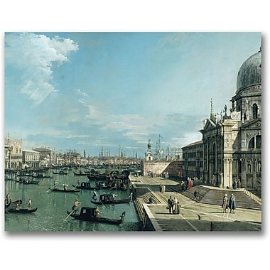 Trademark Global Canaletto in.The Entrance to the Grand Canalin. Canvas Arts