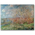Trademark Global Claude Monet in.Spring 1880in. Canvas Arts