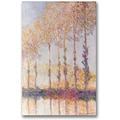 Trademark Global Claude Monet in.Poplars on the Banks of the Eptein. Canvas Arts