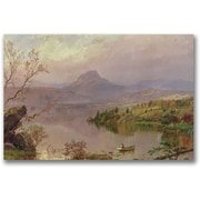 Trademark Global Jasper Cropsey Sugarloaf from Wickham Lake Canvas Art, 16 x 24