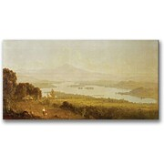 "Trademark Global Sanford Gifford ""Lake Winnipiegee"" Canvas Art, 24"" x 47"""