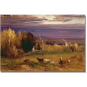 "Trademark Global George Inness ""Sunshine after Storm or Sunset"" Canvas Art, 30"" x 47"""