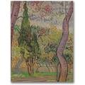 Trademark Global Vincent Van Gogh in.The Park at Saint-Paulin. Canvas Arts