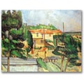 Trademark Global Paul Cezanne in.Viaduct At Estaquein. Canvas Art, 30in. x 47in.