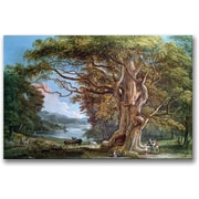 Trademark Global Paul Sandby An Ancient Beech Tree, 1794 Canvas Art, 30 x 47