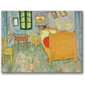 Trademark Global Vincent Van Gogh in.Van Gogh's Bedroom At Arlesin. Canvas Art, 35in. x 47in.