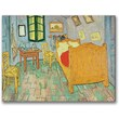 Trademark Global Vincent Van Gogh in.Van Gogh's Bedroom At Arlesin. Canvas Art, 35in. x 47in.