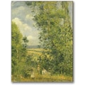Trademark Global Camille Pissarro in.A Rest In The Meadowin. Canvas Arts